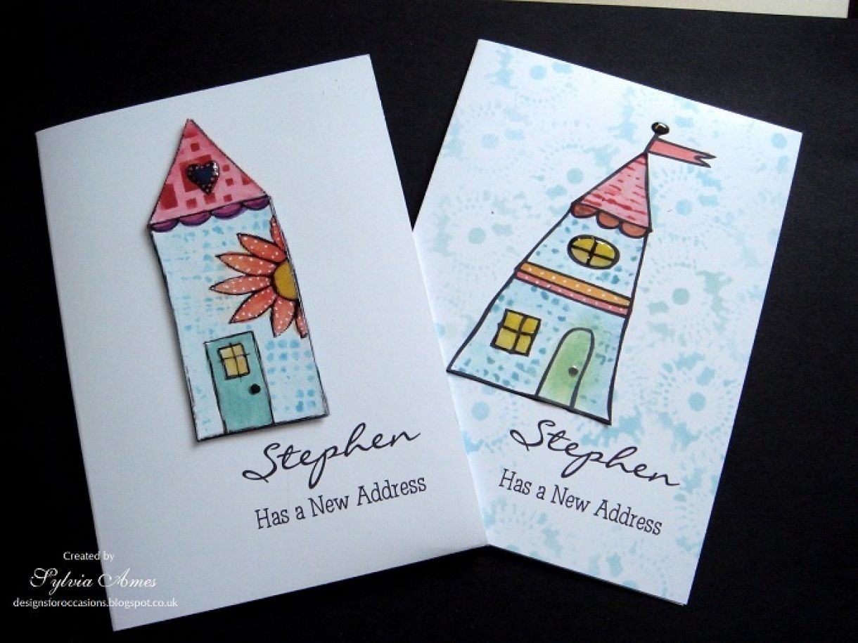 Diy change of address cards for your new home kristyandbryce Gallery
