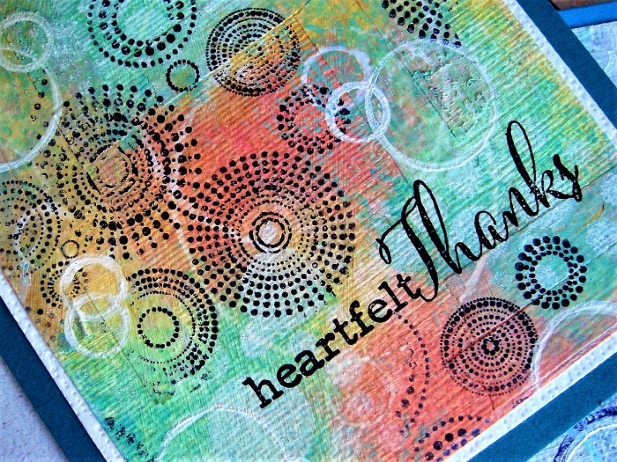 Distress Paints Thank You Cards 18