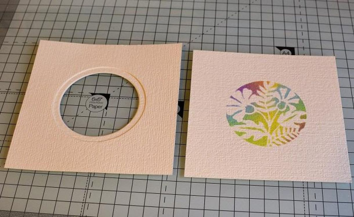 Double Aperture Thank You Card Tutorial 3