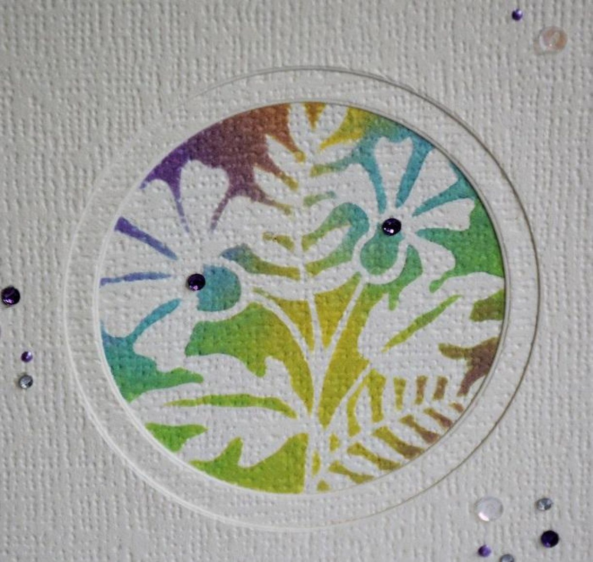Double Aperture Thank You Card Tutorial 5