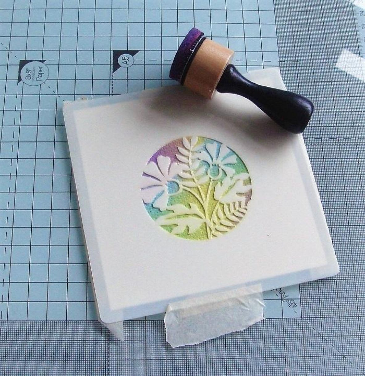Double Aperture Thank You Card Tutorial B