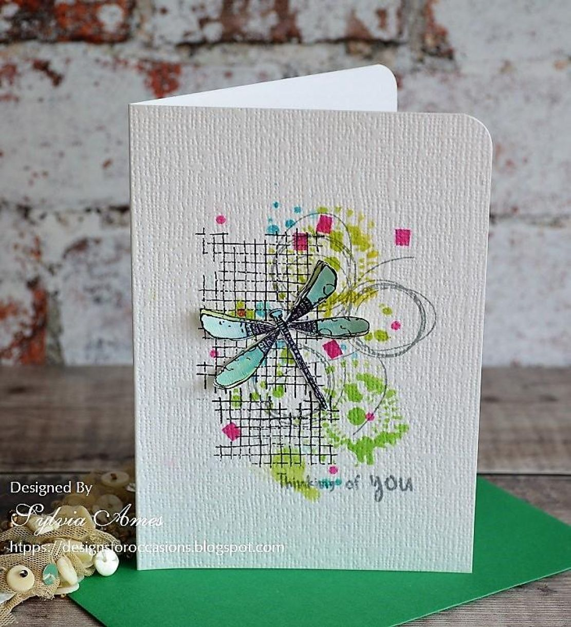 Dragonfly And Butterfly Cards 2