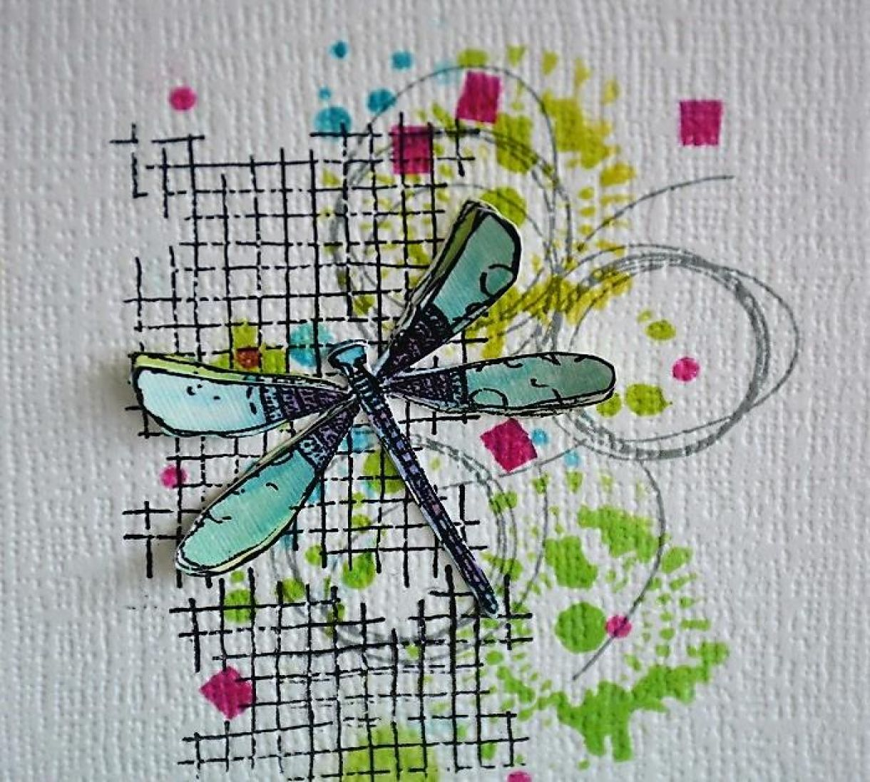 Dragonfly And Butterfly Cards 4