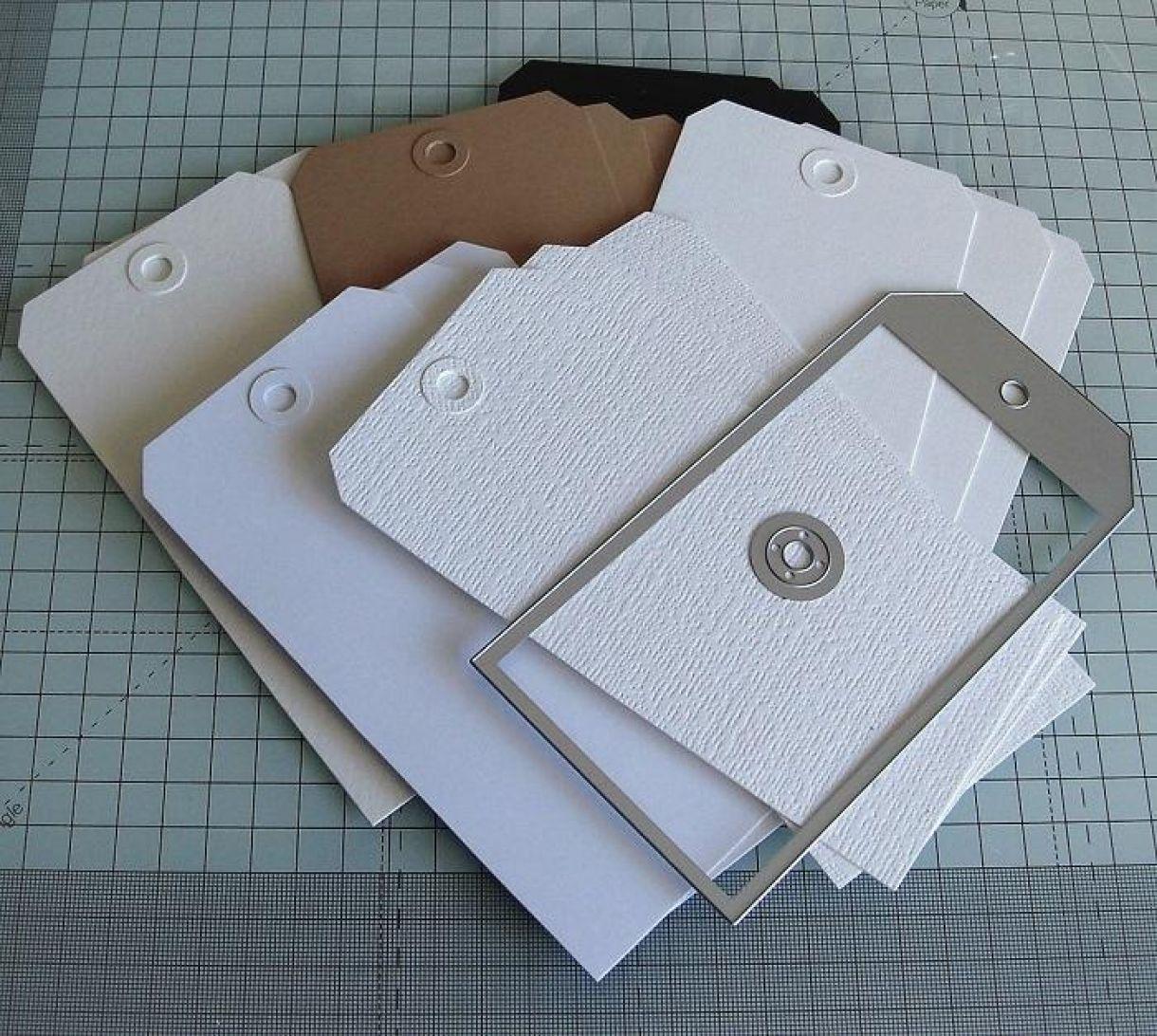 Embossing Folder Organiser Tag Book 1