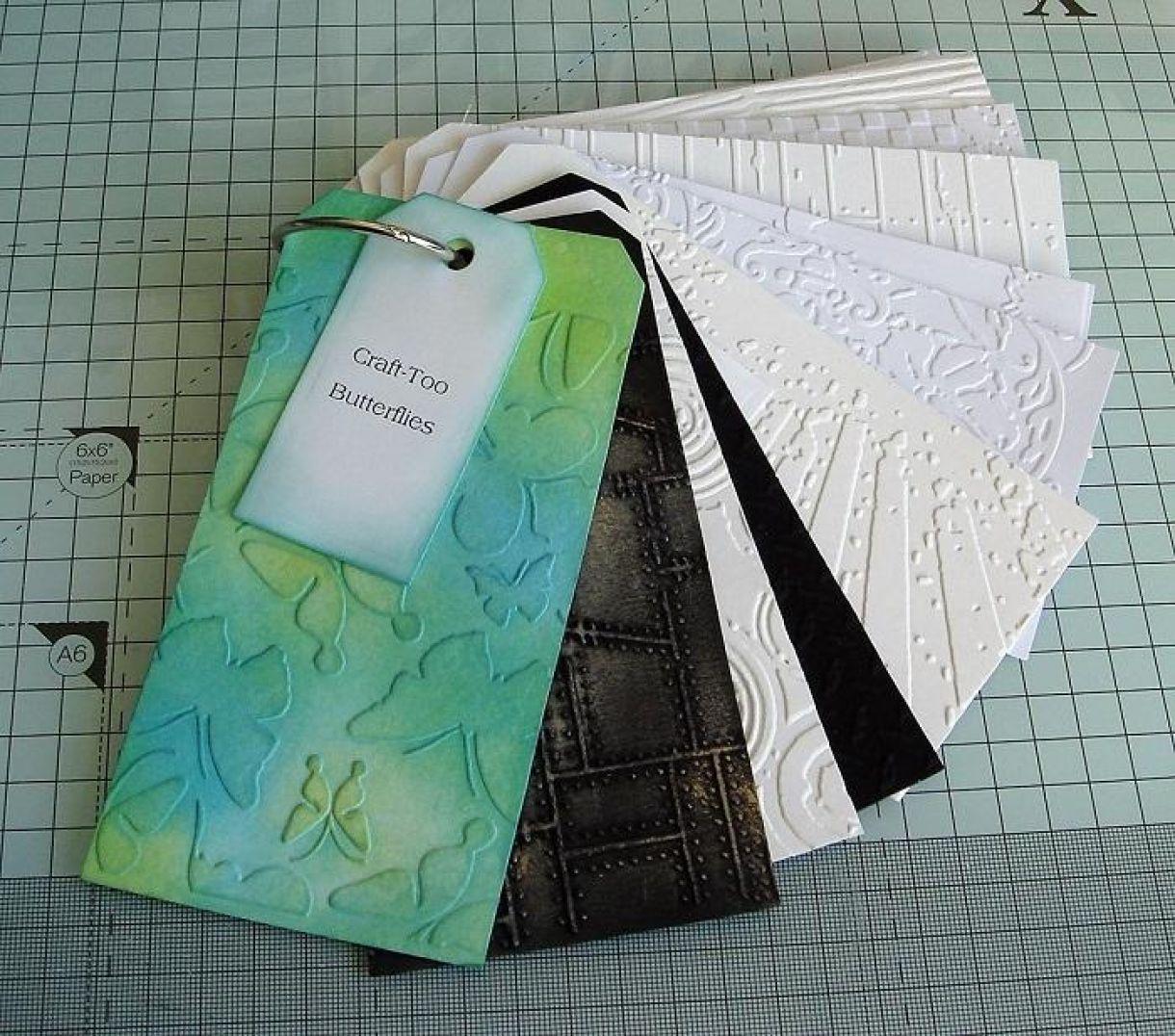 Embossing Folder Organiser Tag Book 6