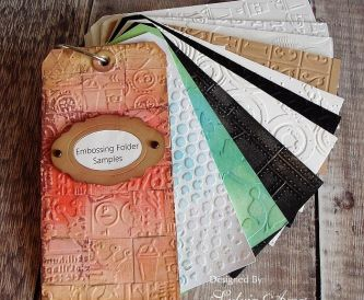 Organising Embossing Folder Designs and Techniques