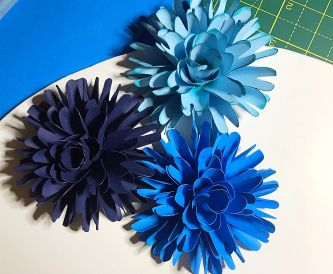 Create Your Own Paper Dahlia