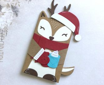 Hugger Critter Gift Card Holder