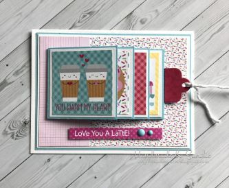 Waterfall Card with Gift Card Surprise