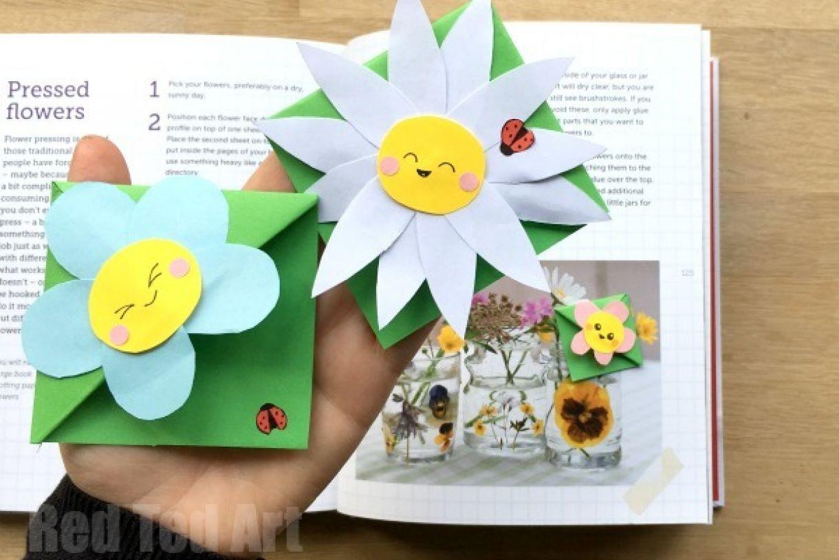 Flower Bookmark Design