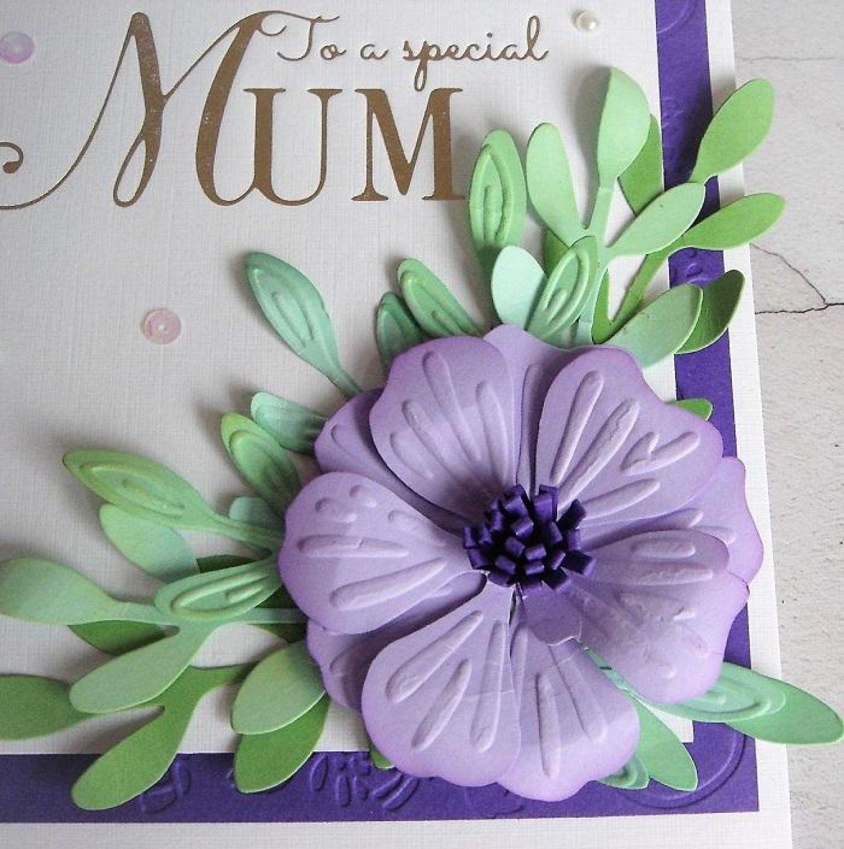 Flower Cards For Mum 1