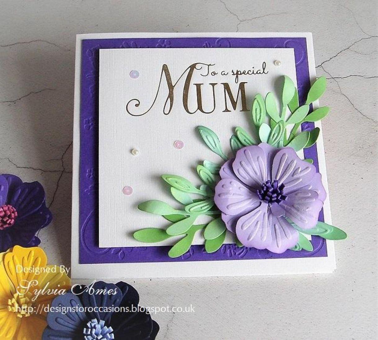 Flower Cards For Mum 2