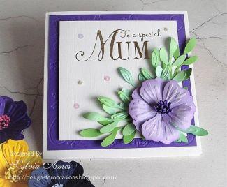 Flower Cards For Mum