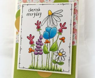 Cherish Every Day - Wiggly Stems by Woodware