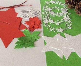 Pretty DIY Christmas Tags - Tutorial