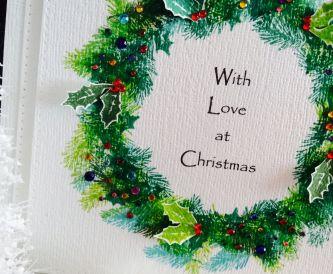 Last minute Christmas card idea!