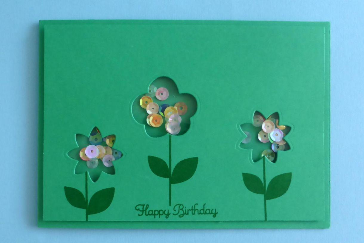 Green Flower Shaker 5