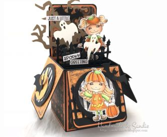 Halloween Pop-up Box Card