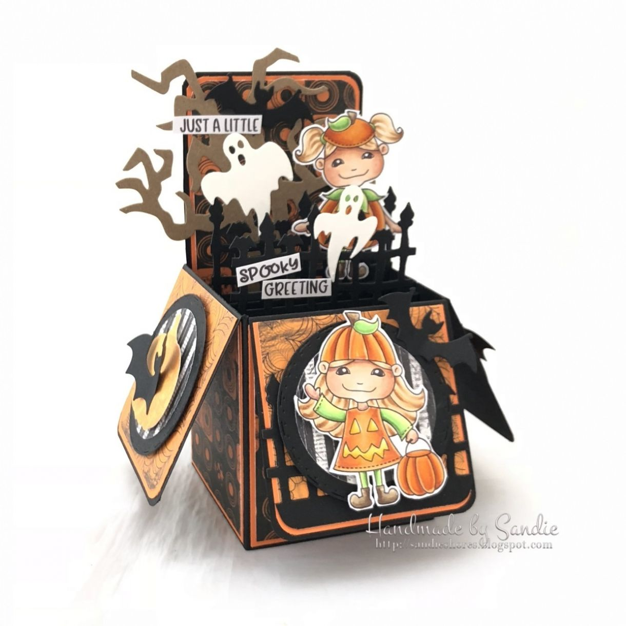 Halloween Pop Up Box Card Lllc Pmd
