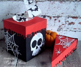 Halloween Tissue Box Cover And Treat Box