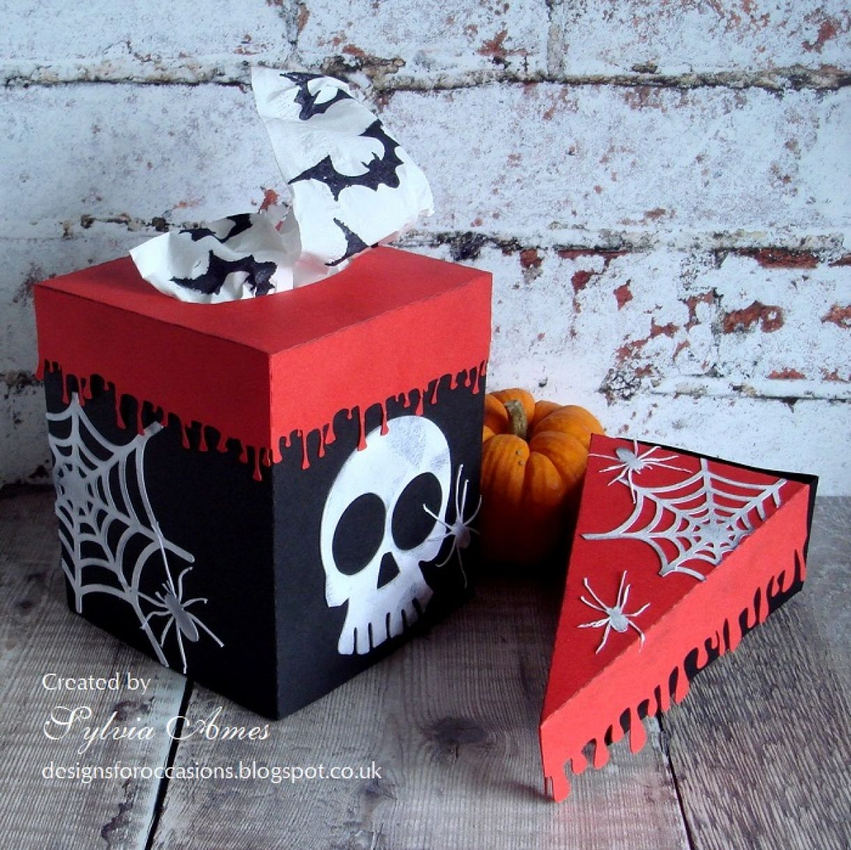 Halloween Tissue And Treat Box