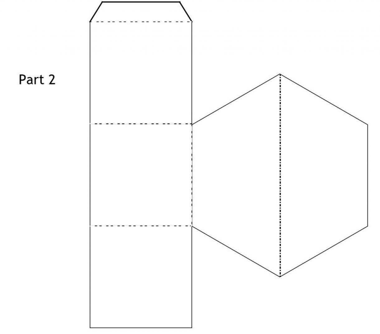 Hexagonal Pop Up Box Card 2 Edited