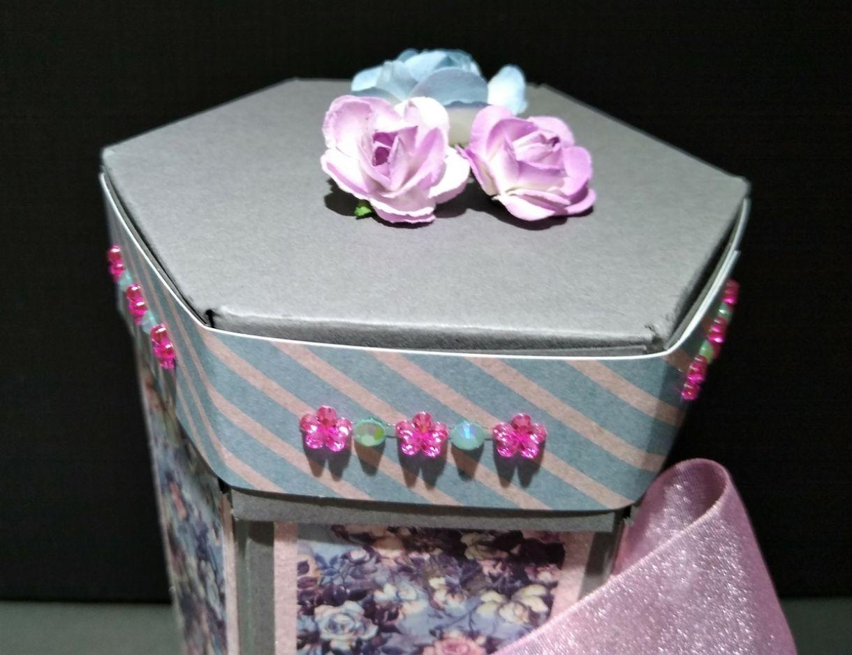 Hexagonal Stacked Gift Box 1
