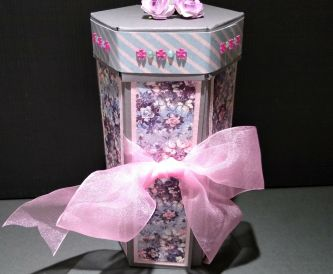 Hexagonal Stacked Gift Box
