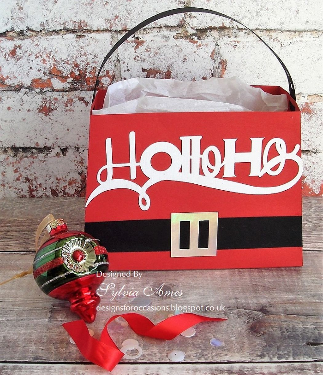 Ho Ho Ho Gift Bag And Card1