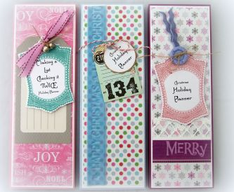 How to make your own DIY Notebooks - Christmas Holiday Planners