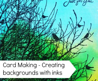 How to use Spray Inks - Getting Inky with Barbara Daines!