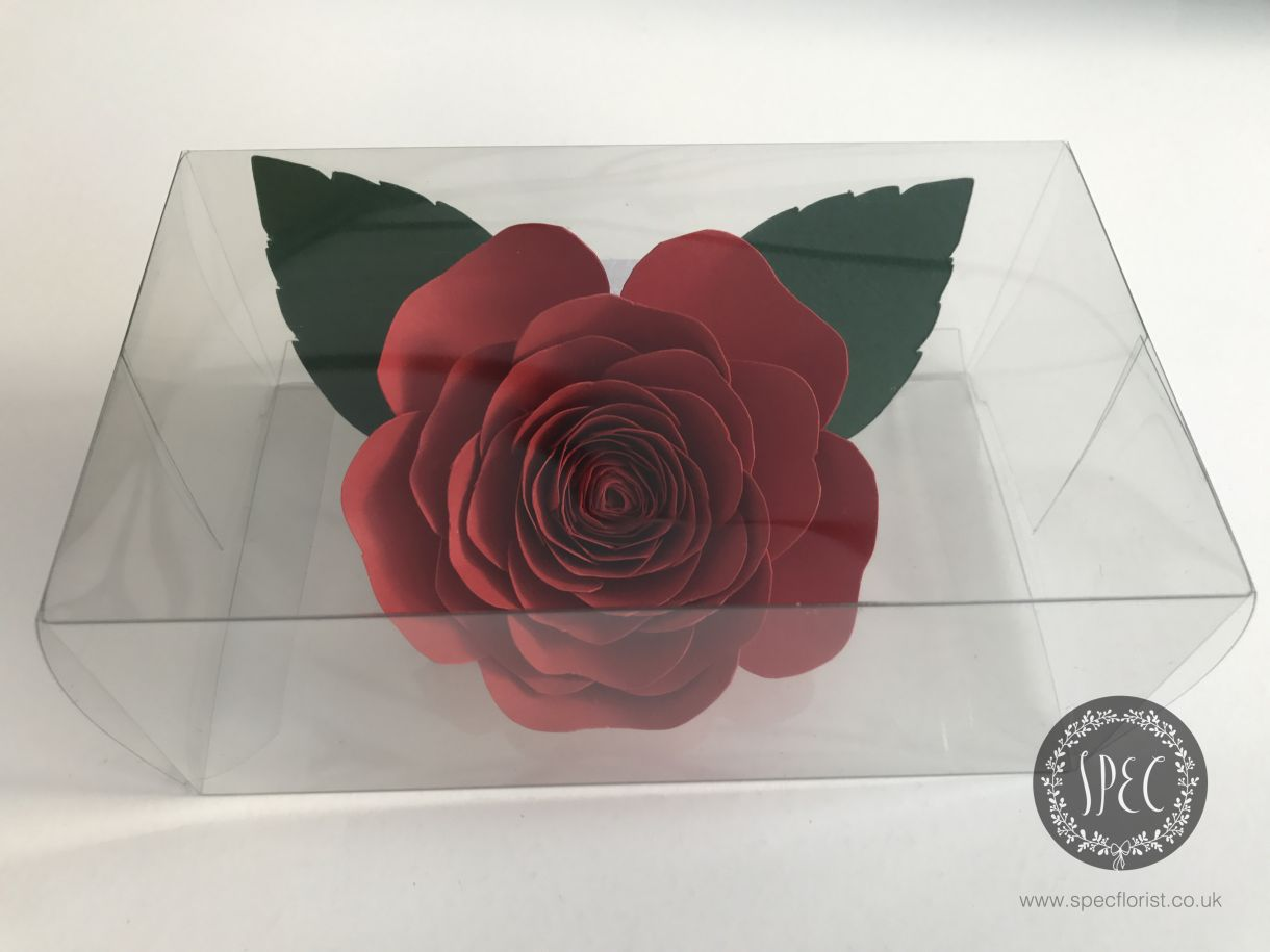 Corsage in box