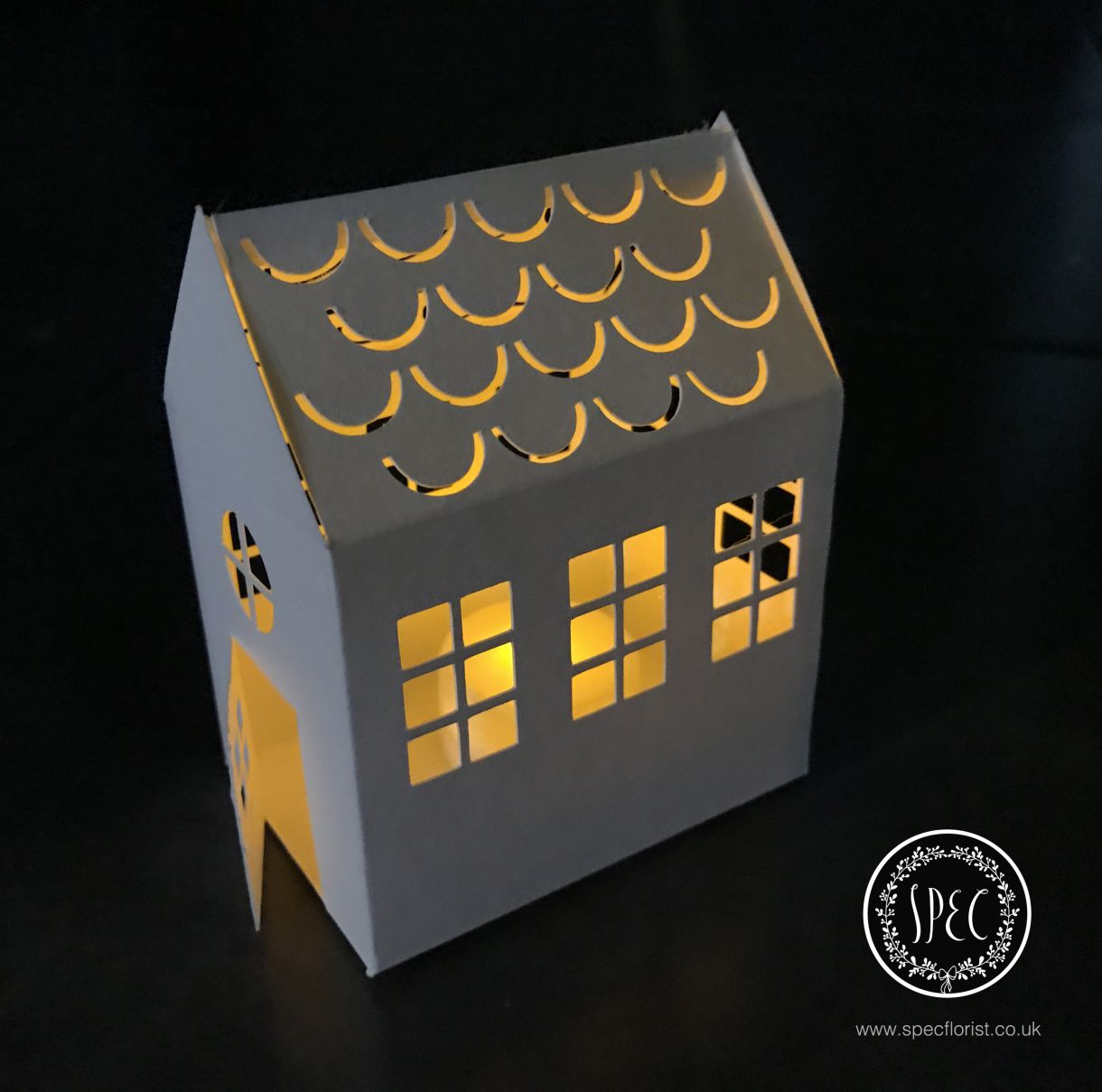 Light up paper home
