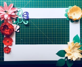 Creating A Picture Frame For Mothers Day