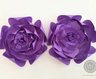 Make your own pretty paper flowers