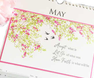 Papermilldirect Calendar page for May