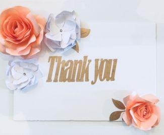 Creating a Teacher's Thank You Board