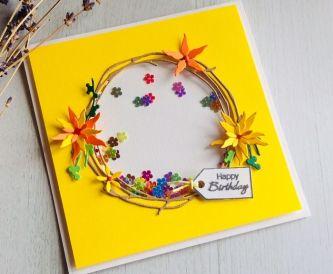 A Bright & Cheerful Happy Birthday Card.