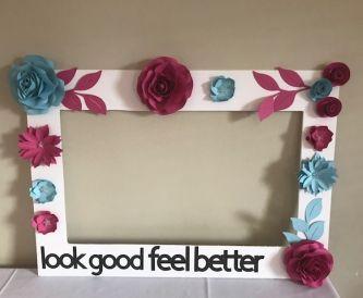 A Look Good Feel Better Selfie Frame