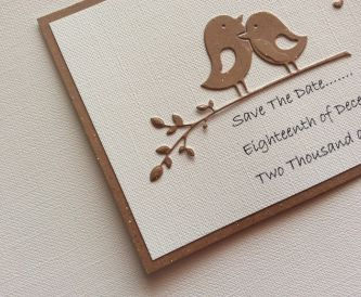 Hand-Crafted Wedding Stationery - Save the Date Ideas