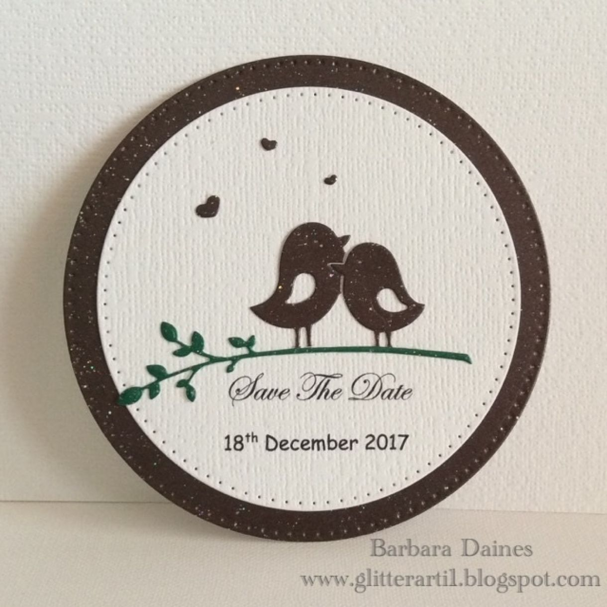 Hand Crafted Wedding Stationery Save The Date Ideas