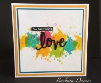 Card making Tutorial - Quick & Colourful…....