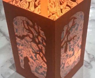 Halloween Inspired Decorative Lantern