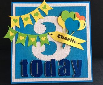 A Bright Card For My Grandson