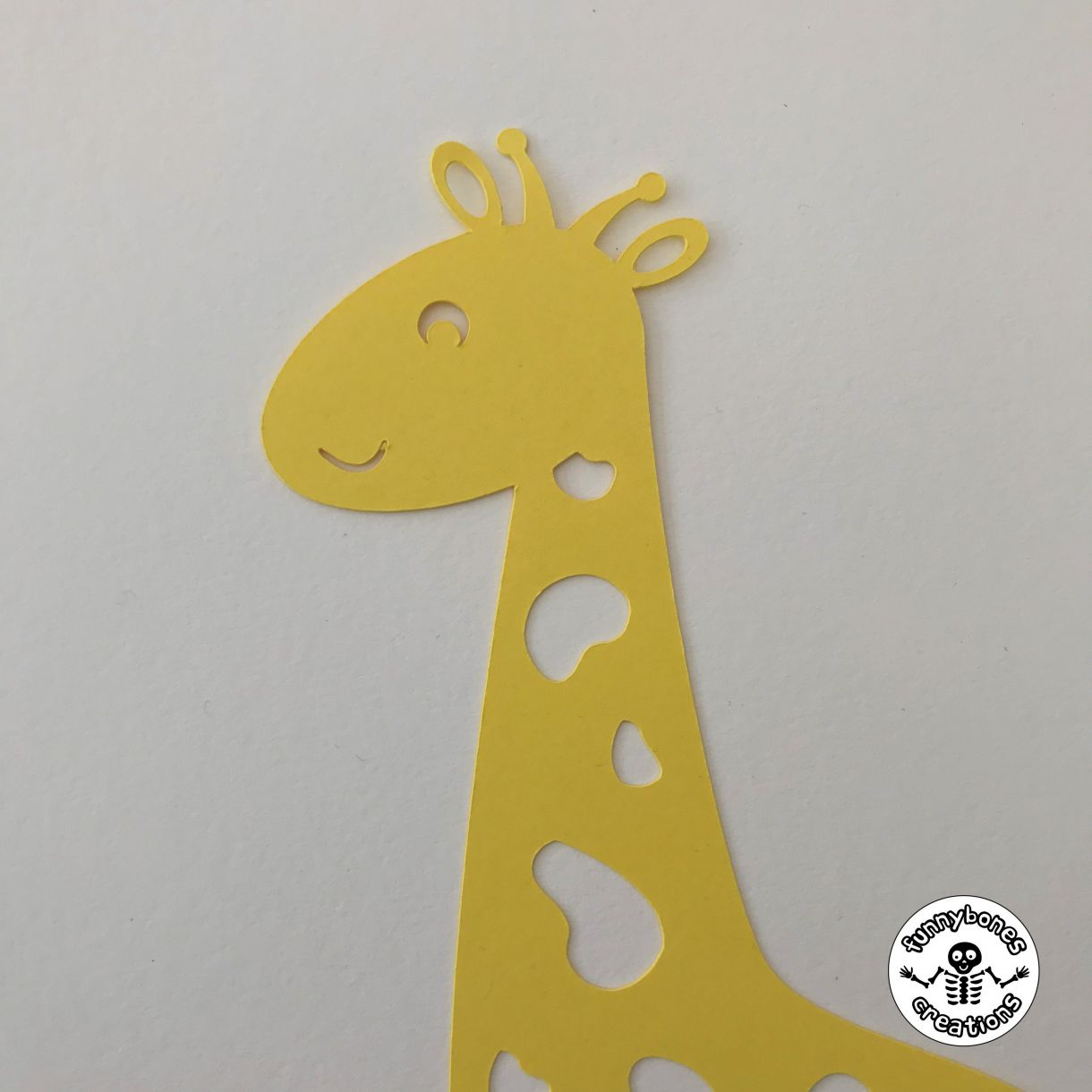 Paper giraffe