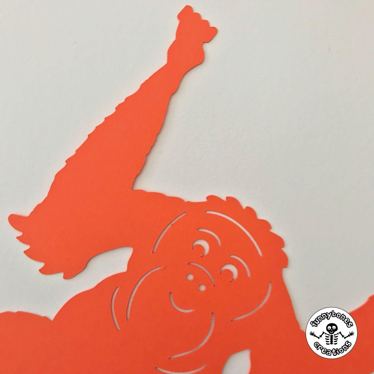 Paper orangutan