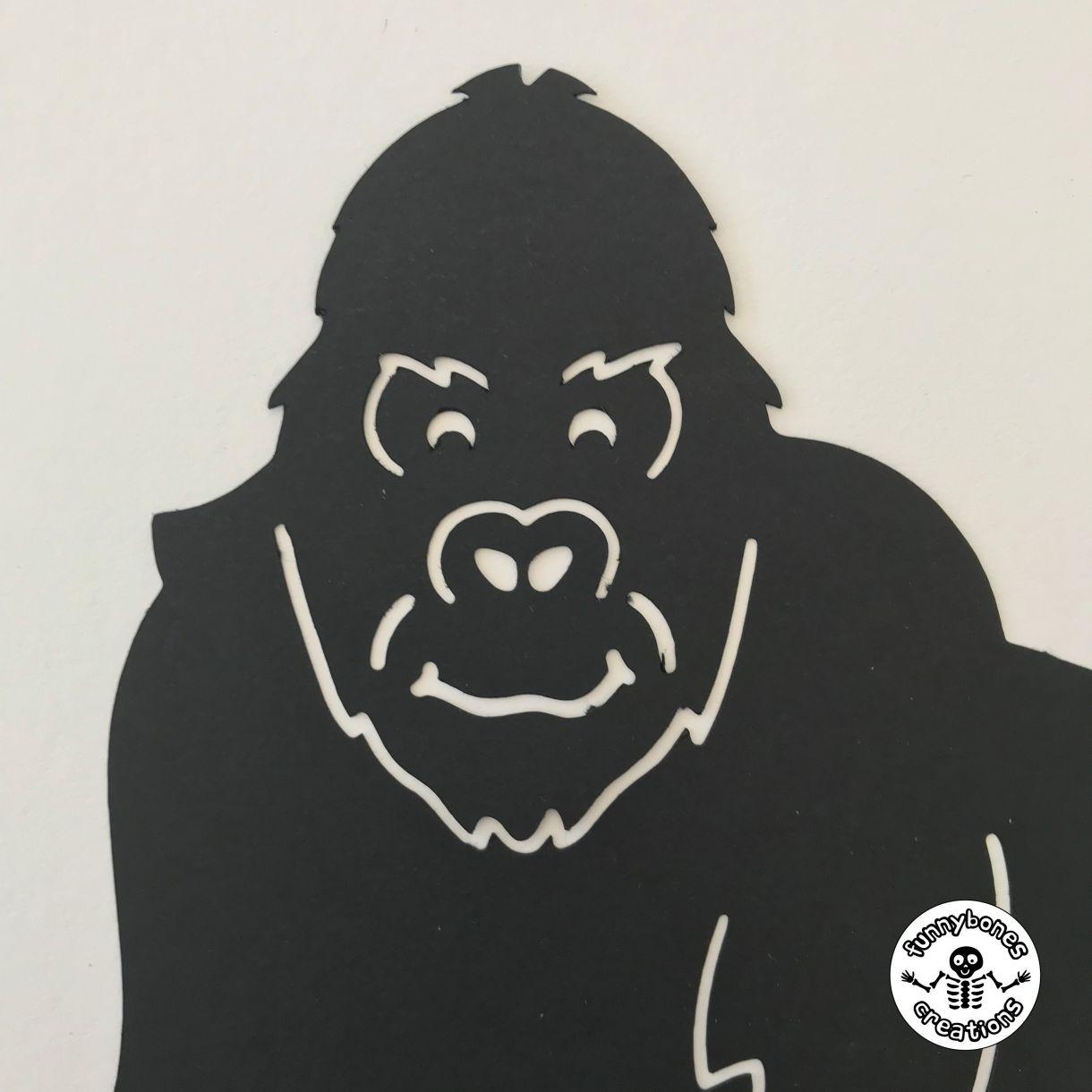 Paper gorilla
