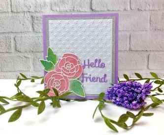 A Hello Friend Card