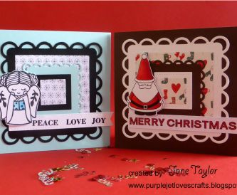 Christmas Cards - One Design, Two Looks