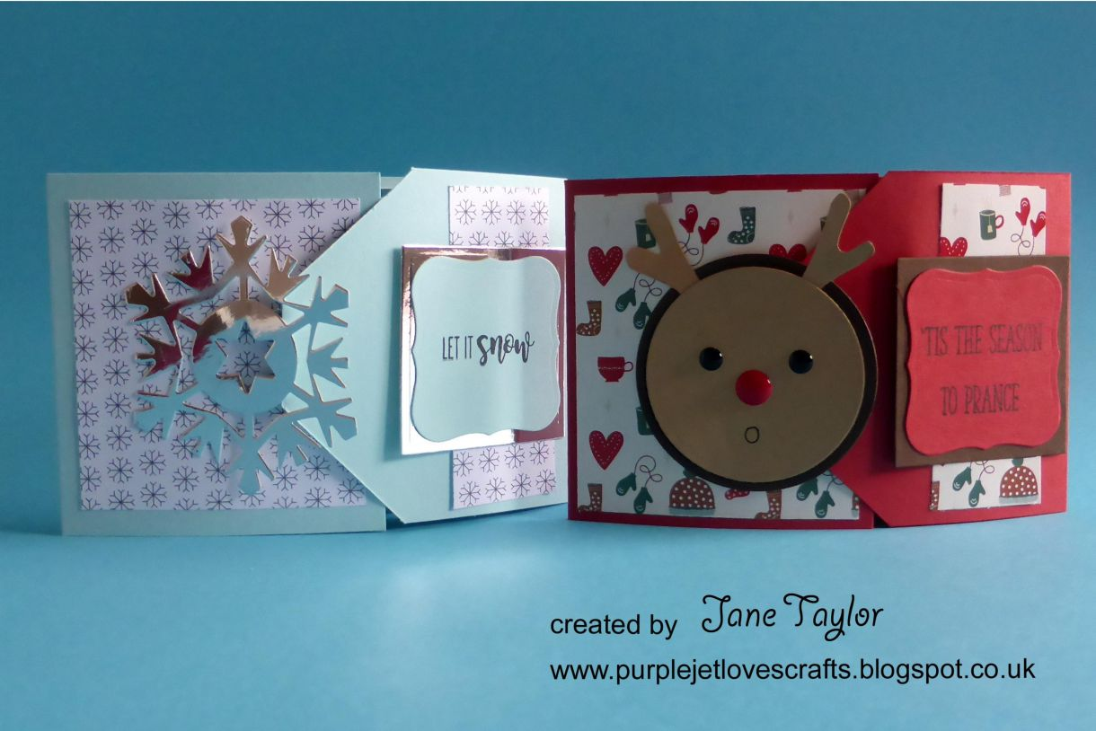 Jane Christmas Gift Card 1J